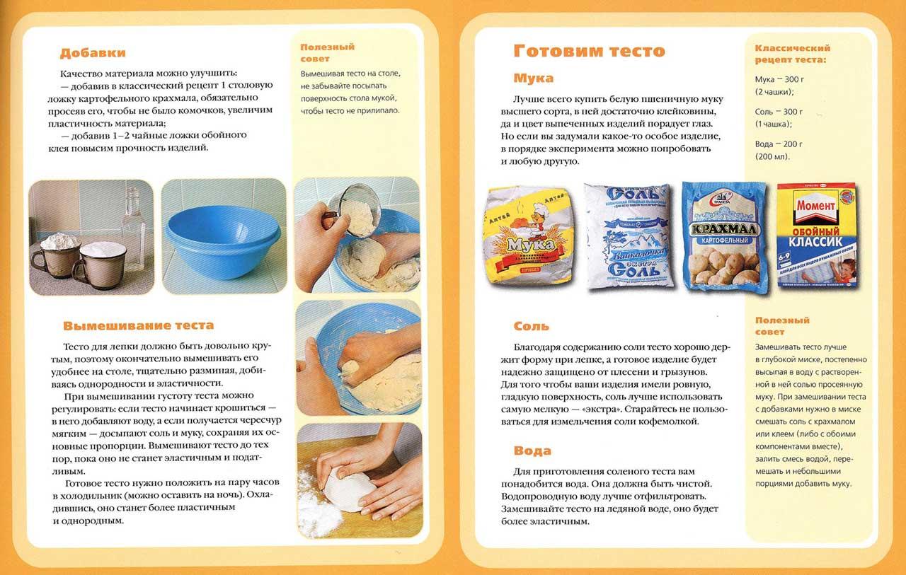 Эластичное тесто для лепки своими руками рецепт